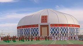 Turkmenistan's biggest Yourte