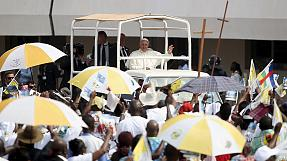 Pope makes final plea to heal Muslim-Christian rifts before leaving Africa