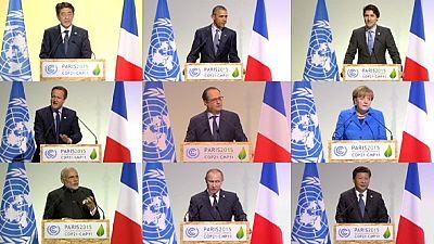 Los líderes mundiales inauguran la COP21 con declaraciones de buenas intenciones