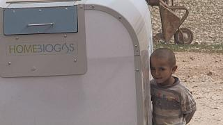 Egy palesztin mérnök megalkotta a világ legegyszerűbb biogáz-fejlesztő gépét