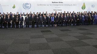 صورة عائلية لقادة العالم خلال مؤتمر الأمم المتحدة للمناخ