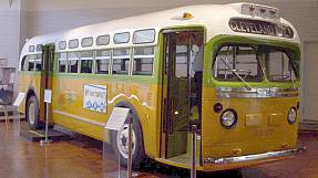 Rosa Parks and the Montgomery bus ride into history
