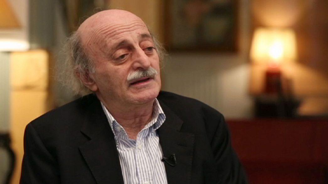 """Walid Jumblatt: """"Estamos no princípio de um longo caminho na Síria e no Iraque"""""""