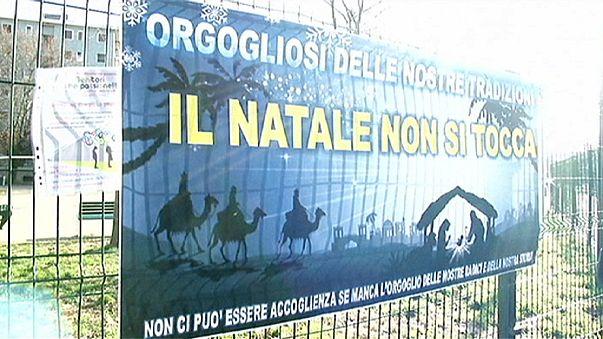Италия: скандал вокруг празднования Рождества