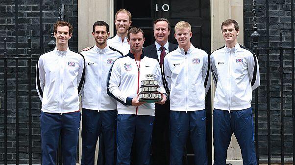 Τένις: Πρωθυπουργική υποδοχή για τους Βρετανούς θριαμβευτές του Davis Cup