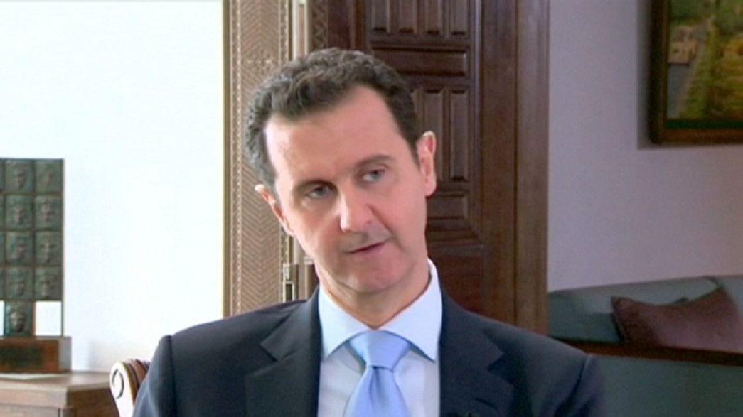 """Assad: """"L'abbattimento del jet russo non fermerà l'intervento di Mosca in Siria"""""""