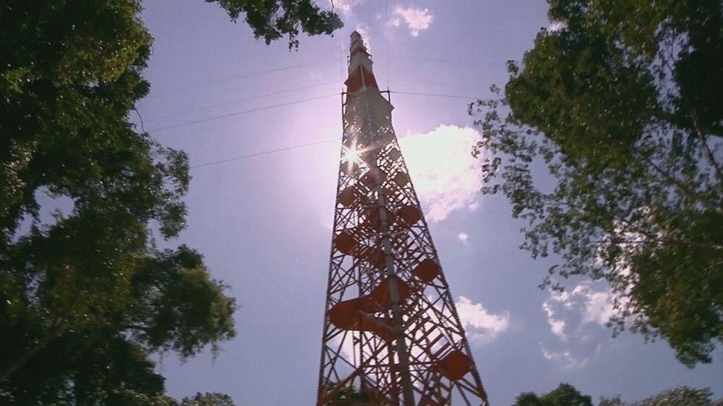 La torre di guardia del clima
