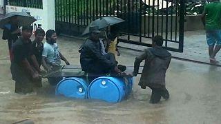 Torrential rains in Chennai