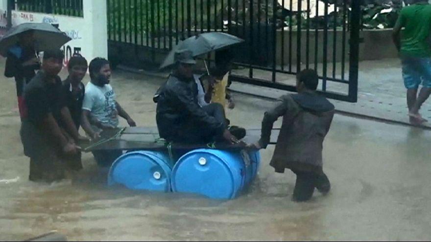 Özönvíz az indiai Chennaiban