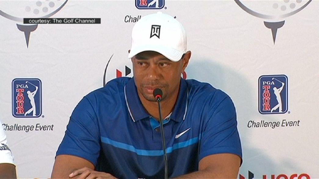 Tiger Woods kämpft mit Rückenproblemen