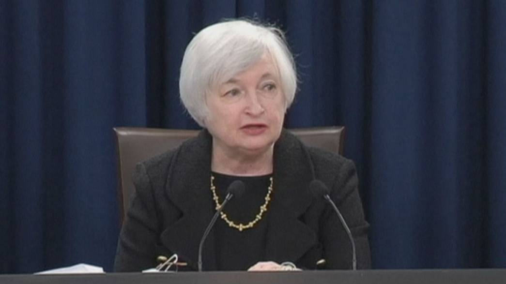 Federal Reserve Yellen 'looking forward' to interest rate hike