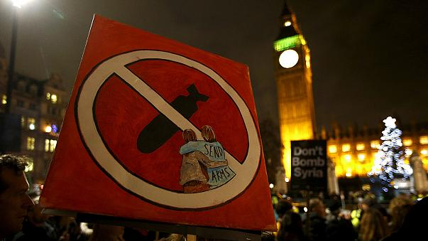Britain's parliament approves airstrikes in Syria