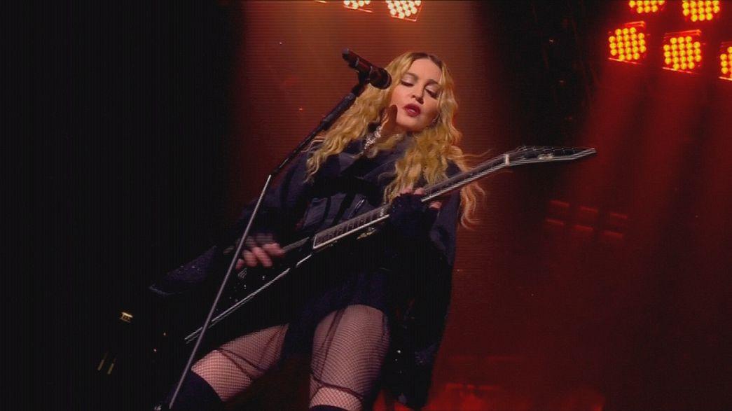 Medidas de segurança reforçadas no concerto de Madonna em Londres