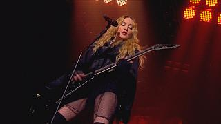 Madonna's 'Rebel Heart' tour in London's O2 Arena