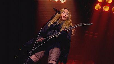 "Madonna en Europe pour ""Rebel Heart"""