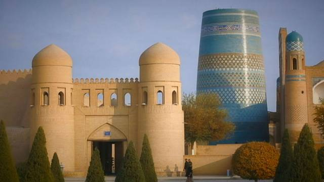 Postcards from Uzbekistan: The Kalta Minor Minaret, Khiva