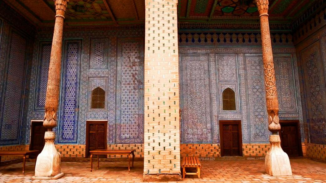 «Открытки из Узбекистана»: дворец Таш-Хаули в Хиве