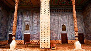 Tra le 150 stanze del palazzo Tosh Hovli di Khiva