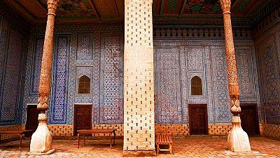 Palacio Tosh Hovli, joya de Uzbekistán