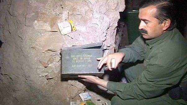 Боевики ИГИЛ скрывались от бомбардировок Синджара в туннелях