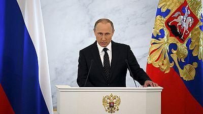 Putin slams Turkey in speech, demands international solidarity against terrorism