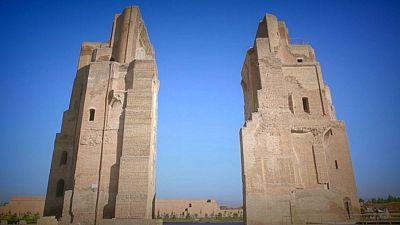 Postcards from Uzbekistan: The Ak-Saray Palace, Shakhrisabz