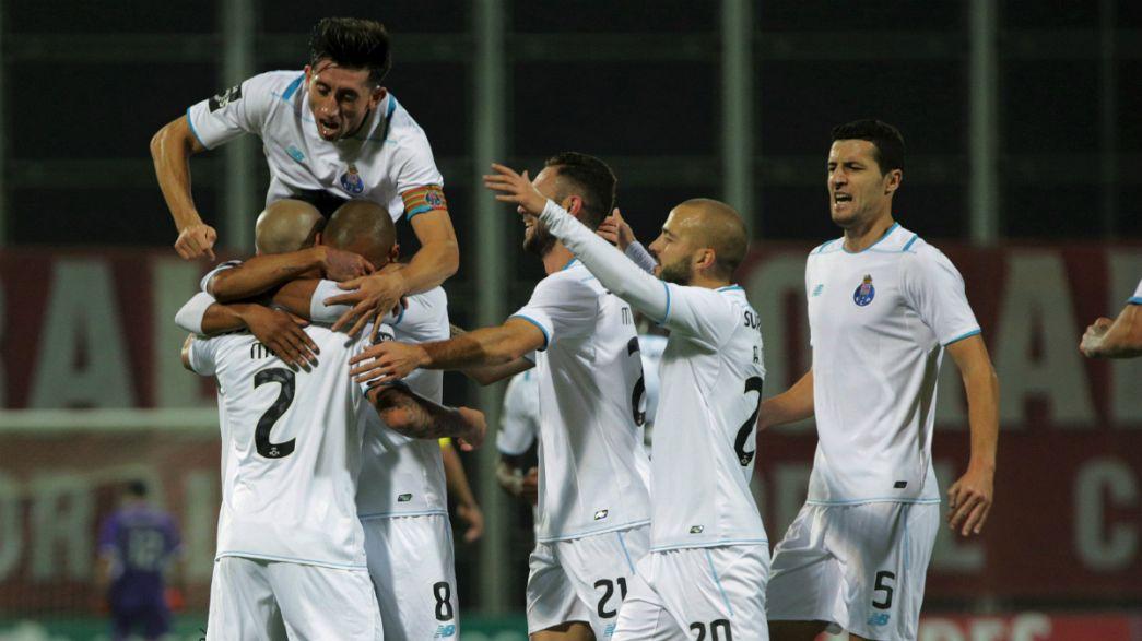 Liga Portuguesa, J9 (jogo em atraso): FC Porto goleia (0-4) na Madeira e fica a 2 pontos do Sporting