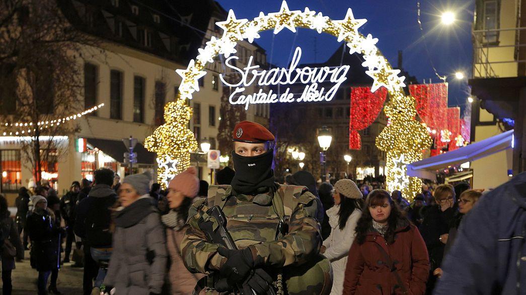 Mercato di Natale sotto scorta a Strasburgo