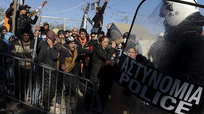 مقتل مهاجر على الحدود اليونانية المقدونية