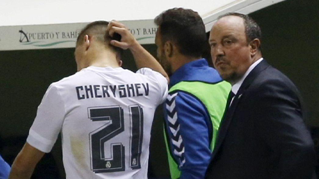 Calcio: che guaio Benitez! Il Real Madrid rischia l'eliminazione dalla Coppa del Re