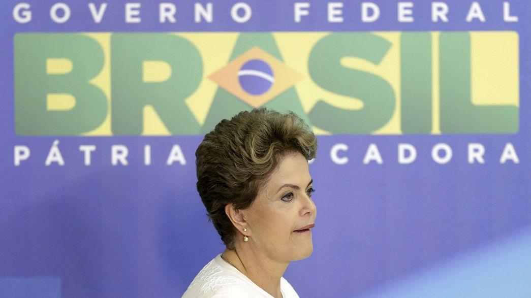 Brazília: sötét felhők gyűlnek Dilma Rousseff felett