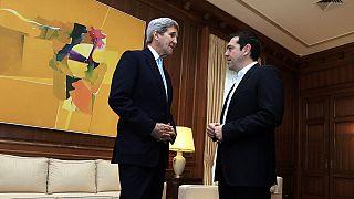 Στην Αθήνα ο Αμερικανός υπουργός Εξωτερικών Τζον Κέρι