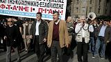 Az újabb megszorítások ellen tüntettek Athénban
