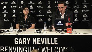 FC Valencia stellt Trainer Gary Neville vor