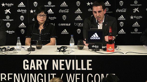 Gary Neville unveiled as Valencia coach