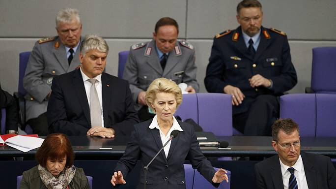 Pénteken szavaz a szíriai katonai bevetésről a német parlament
