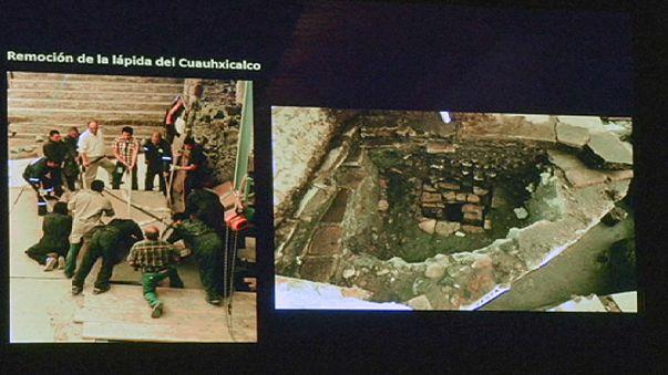 Arkeologlar Aztek hükümdarlarına ait mezarların izinde