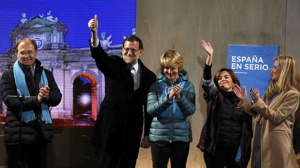 Spanien vor der offensten Parlamentswahl seit der Rückkehr zur Demokratie