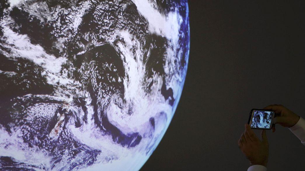 Франк Де Вінне: погляд на Землю з космосу