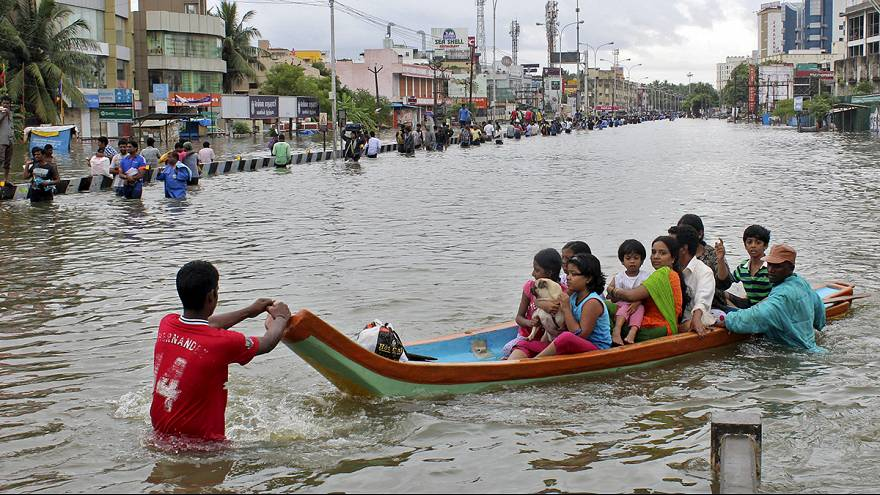 Chennai struggles with worst rain in a century as lakes close to bursting