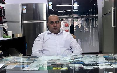 Hikmat Suleiman, 50, who owns a home appliances store in Abu Dis, the Israel-occupied West Bank, says he once believed in peace with Israel but no longer. Now he blames the U.S. for the problems besetting the Palestinian people, and Muslims around the world.
