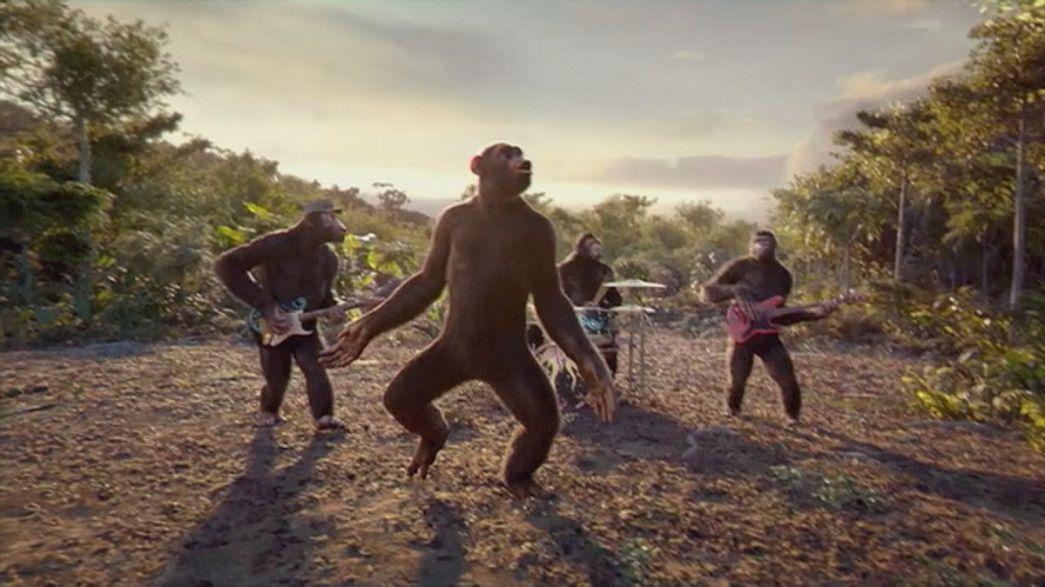 Coldplay: regressione allo stadio di scimmia
