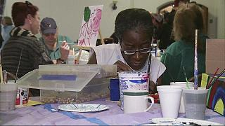 Un programa artístico para ayudar a personas sin hogar en Boston