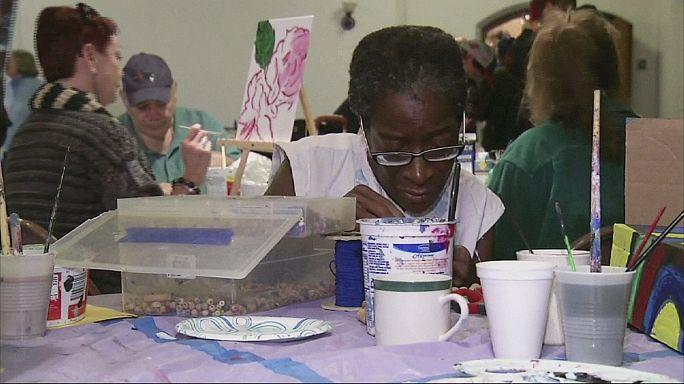 Művészeti kurzus a bostoni hajléktalanoknak