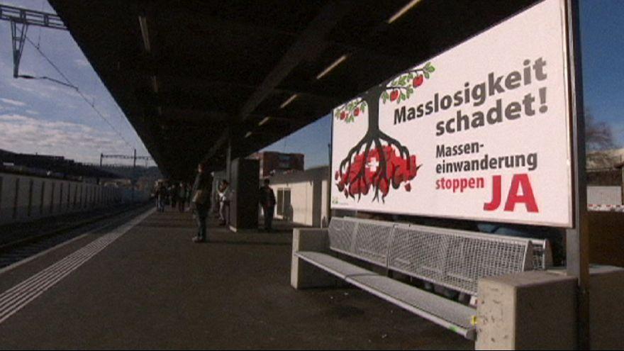 İsviçre'de AB'ye göçmen resti