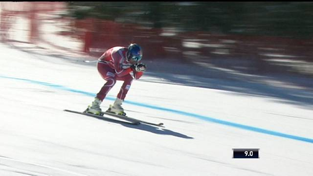 Alpine Skiing World Cup: On-form Svindal makes it three in a row