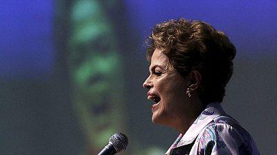 """Dilma Rousseff califica de """"golpe"""" la apertura de un proceso de destitución contra ella"""