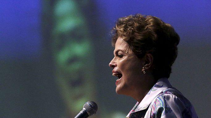 Brésil : menacée de destitution, Dilma Rousseff dénonce un coup d'Etat