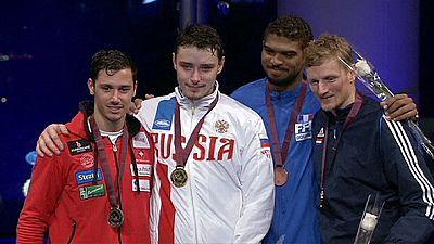 L'épéiste russe Anokhin décroche l'or au Qatar, le français Borel est 3ème