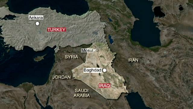 Iraq calls Turkish troop presence in the north a 'hostile act' and calls on the soldiers to withdraw